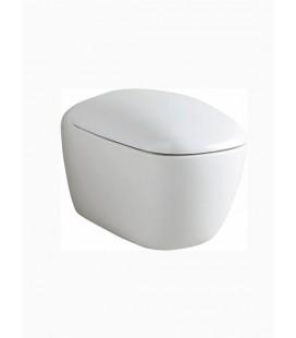 Závěsné wc Keramag Citterio bez splachovacího kruhu 203570600 KeraTect