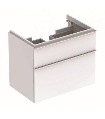 Geberit koupelnová skříňka 74cm bílá lesklá 840375