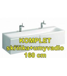 Keramag Xeno2 427061016 + skříňka Keramag 807760
