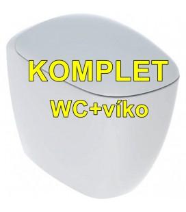 Geberit Citterio 500.512.01.1 stojící rimfree WC/ KeraTect